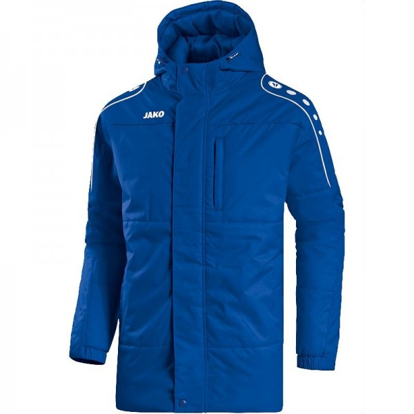JAKO Coachjacke Active royal-weiß