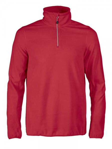 Printer Railwalk Fleece Zip Top Damen rot