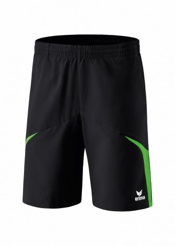 Short - schwarz/green