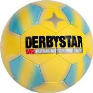 Derbystar Futsal Match Pro Light /Kinder-Jugend Hallenfussball /gelb-blau